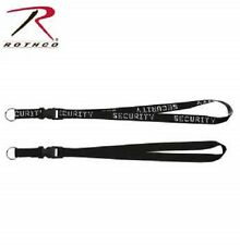 """Rothco 2705 Military Security Neck Strap Key Ring 32"""" Quick Release"""