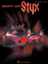 BEST OF STYX - NEW PAPERBACK BOOK