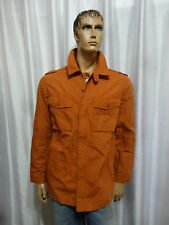 Timberland mens Bombay Orange Military Lt weight utility jacket M L XL NEW Macys