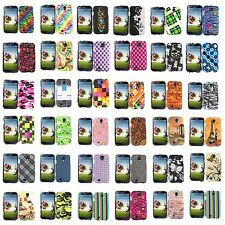 Design Faceplate Protector Hard Cover Snap Case for Samsung Galaxy S4 S IV i9500