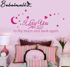 New Love Quote Wall Sticker Decal Removable Mural Art Vinyl Home Decor DIY