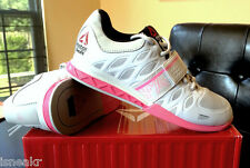 REEBOK CROSSFIT OLY LIFTER PORCELAIN STEEL PINK M43663 WOMENS POWERLIFTING SHOE