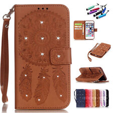 Hot Fashion Luxury Flip Leather Wallet Card Magnetic Case Cover For iPhone+Gift