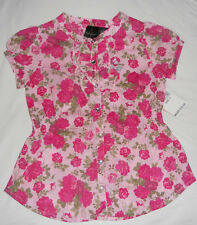 BABY PHAT Girls  Short Sleeve Top Size- 4 NWT