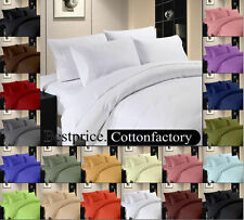 1000TC COMPLETE BEDDING SET,DUVET SET,FITTED SHEET,100%EGYPTIAN COTTON