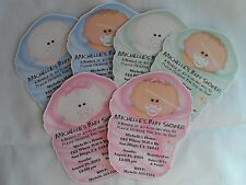 PERSONALIZED BABY SHOWER INVITATIONS/THANK YOU CARDS