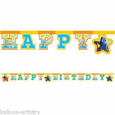 Disney Pixar's Finding Dory Children's BIRTHDAY Party Letter Banner Decoration
