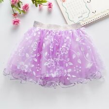Baby clothes Kid Girls Summer Dress Pageant Princess Lace Pettiskirt Ballet Tutu