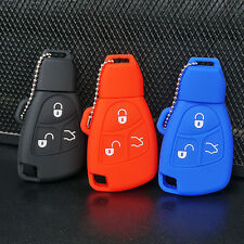 Silicone key cover case jacket for Mercedes Benz B C E ML S CLK 270 CL