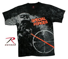 VINTAGE (style) BLACK 'SPECIAL FORCES' T-SHIRT SM-3XL