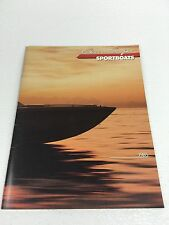 Chris Craft 1985 Sportboats Brochure / Catalog