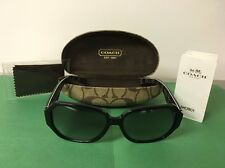 Authentic Coach Black Frame Sunglasses HC8062 L058 Melissa