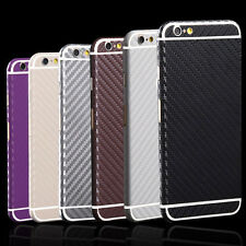 Carbon Fibre Body Skin cover case Protector Wrap Sticker Decal For iPhone Fresh