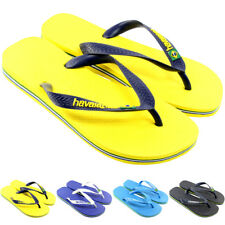 WOMENS HAVAIANAS FLIP FLOPS ORIGINAL BOX BRAZIL BRASIL LOGO LADIES SANDALS 3-8