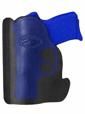New Barsony Black Leather Pocket Holster SIG Walther Small 380 Ultra Comp 9mm