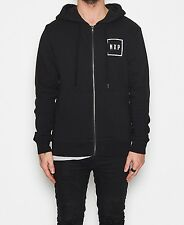 Nena & Pasadena - MIDDAY ZIP THROUGH HOODIE - Jet Black
