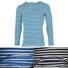 WINTER Striped long sleeve sailors NAVY VDV T-Shirt TELNYASHKA USSR ARMY WARM