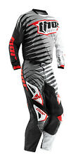 Thor Grey Black Red White Phase Vented Rift Mens Youth Dirt Bike Jersey Pants MX