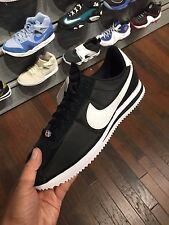 Nike Cortez Nylon Black White Men Sizes