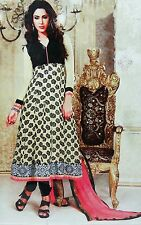 Indian Party Wear Semi Stitched Designer Bollywood Anarkali Salwar Kameez Suit