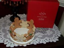 Lenox GingerBread Christmas Votive Candle Holder 830521 New in Box  NEAT RARE