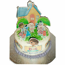 Doc McStuffins Edible Cake Topper 3D Cake Scene Personalized (Precut available)