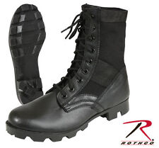 Black Ultra Force G.I. Style Jungle Boots - black - Regular and Wide Widths