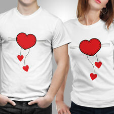 Love strings Tshirt Polyester Size S,M,L,XL,XXL Color White by iberrys