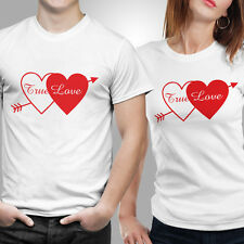True Love T-shirt Size S,M,L,XL,XXL Color White by iberrys