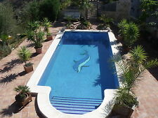 Spanish Villa, 1 hr from Malaga, Pool, Wi-fi, Aircon, Sleeps 6, Stunning views