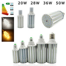 Ultra Bright 20W 28W 36W 50W LED Corn Light Bulb Lamp E27 E40 2835 SMD 85-265V