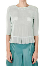 DROME Woman Cut work Leather Top Made in Italy New with Tags and Original