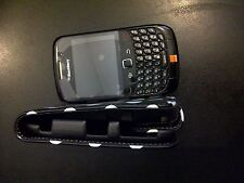 BlackBerry Curve 8520 - Black (Orange) Mobile Phone Refurbished  (Mint)