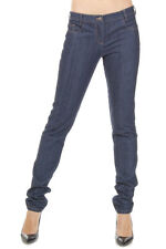 CHRISTIAN DIOR Women New Blue Denim Stretch Jeans Pants Trousers Made in Italy