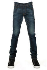 EDWIN Men Blue Stretch Denim Skinny Fit Jeans Made in Japan New with Tag