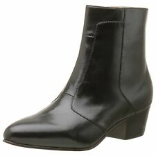 Giorgio Brutini CALLOWAY Mens Black LEATHER Side Zip Boots