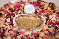 Eco Sparkle Glitter for Real Petal Confetti Gold Biodegradable