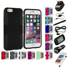 For Apple iPhone 6 (4.7) Hybrid Mesh Case Cover Accessory 7X Accessories