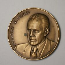 US Mint Gerald Ford President of the United States Bronze Inaugural Medal