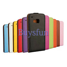 Cacov Stylish Vertical Flip Leather Cover Case For HTC One M9
