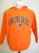 New-Flaw- Bowling Green St. Falcons Youth sizes S-M-XL Orange Hoodie