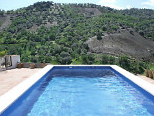 Rural Cottage in Spain, 1 hr from Malaga, Great Pool, TV Wi-fi, stunning views