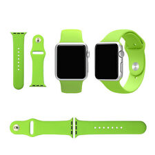 New 38mm 42mm Replacement Wirst Watch Band Silicone Strap for Apple Watch iWatch