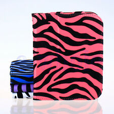 Felt Zebra Style Case Cover Stand for Barnes & Noble NOOK 2nd Simple Touch WS