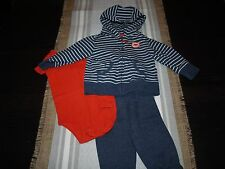 Baby Boys Clothes Playwear Bodysuits Rompers Carters 18 Months Good Condition