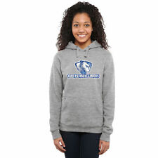 Eastern Illinois Panthers Women's Ash Classic Primary Pullover Hoodie