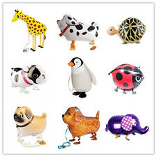 Animal Kids Walking Foil Pet Balloon Helium Children Party Birthday Decor QW