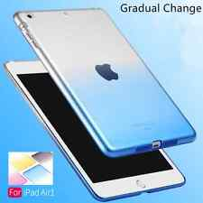 Ultra-Thin Clear Crystal Silicone Soft Case Cover For Apple iPad mini 1234 Air 2