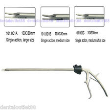 A Clip Applier Single Action 10X330mm Laparoscopy CE approved
