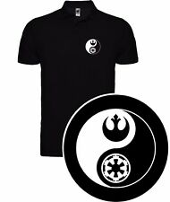 POLO T-SHIRT T-SHIRT STAR WARS GALAXY EMPIRE REBELS JEDI FUNNY SIL 000000